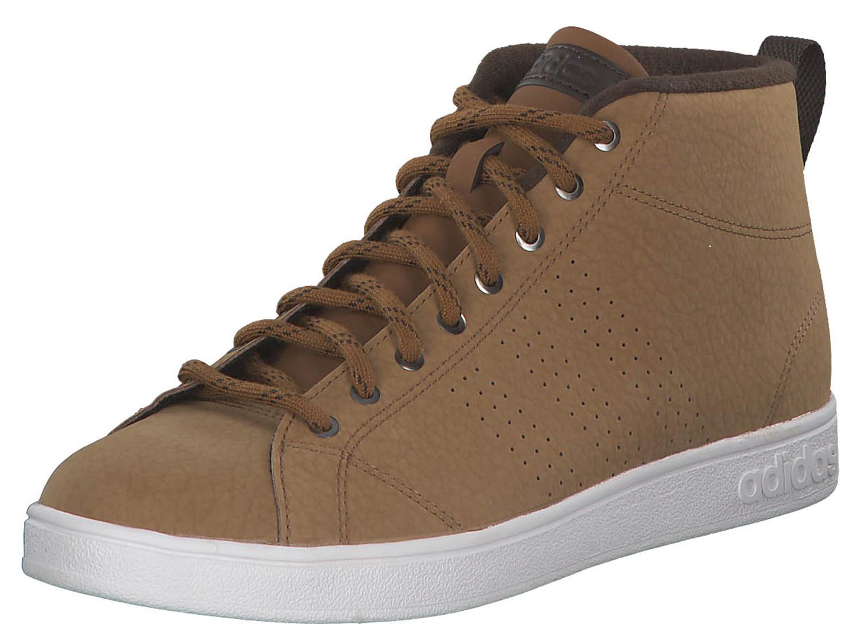 ADIDAS NEO SNEAKERS UOMO wintersneaker alto scarpe invernali bb9898 Marrone