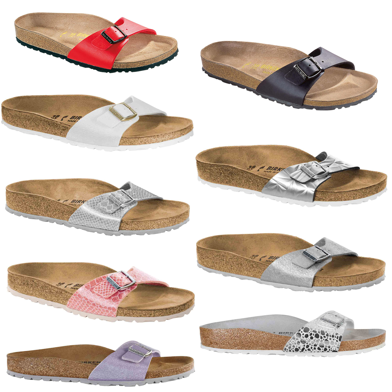 BIRKENSTOCK MADRID Donna Stretto sandali scarpe estive ciabatte div