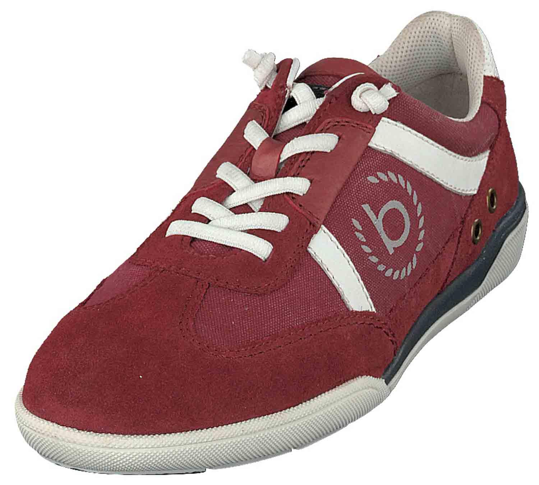Bugatti, Rote, Reduzierte Sneaker für Herren