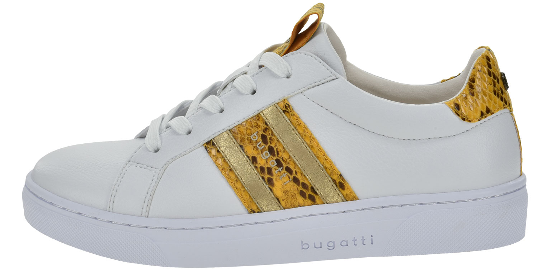 Details zu Bugatti Elea Damen Sneakers Turnschuhe 431 87702 5058 2050 Gelb Neu