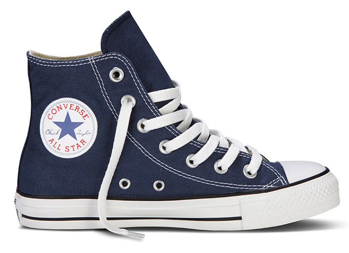 converse chucks hi sneaker turnschuhe m9622 navy blue blau. Black Bedroom Furniture Sets. Home Design Ideas