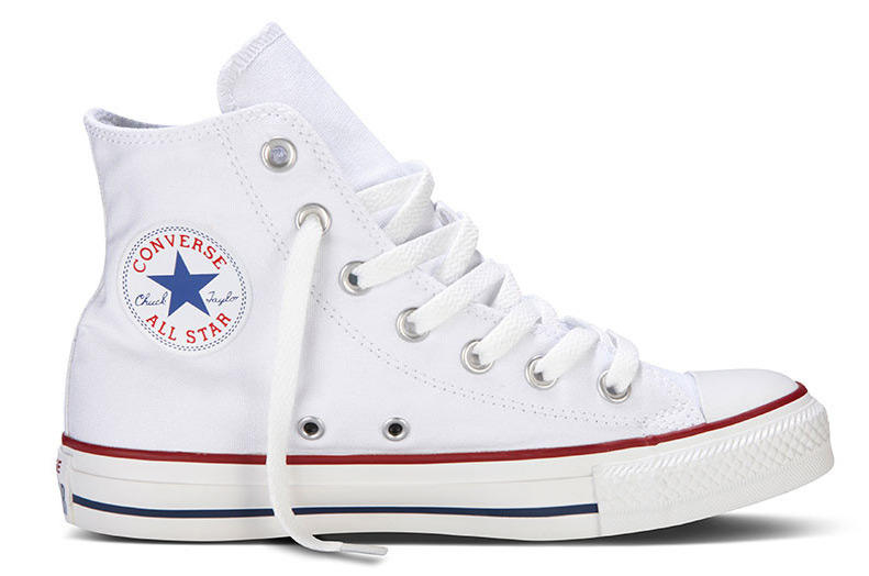 converse chucks hi sneaker turnschuhe m7650 optical white wei ebay. Black Bedroom Furniture Sets. Home Design Ideas