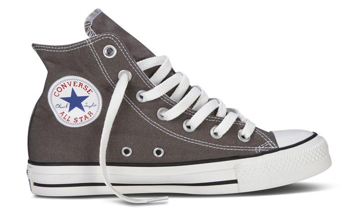 graue converse sneaker