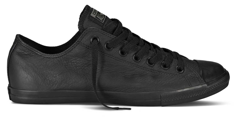 converse chucks edel sneaker turnschuhe low ox 144650c lean leder schwarz neu ebay. Black Bedroom Furniture Sets. Home Design Ideas