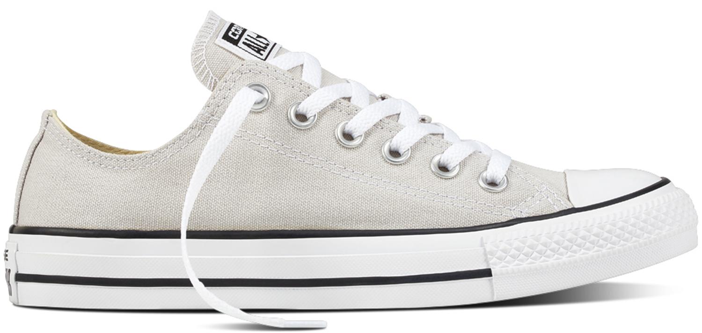 Converse All Star Chuck Taylor Adulti Da Donna Sneaker 157652 Grigio/Bianco Nuovo