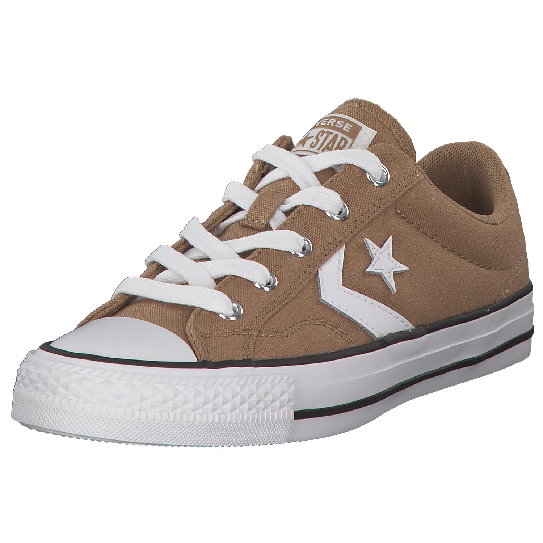 Details zu Converse Star Player Unisex Sneaker Sneaker Low Turnschuhe 161592 Braunweiß Neu