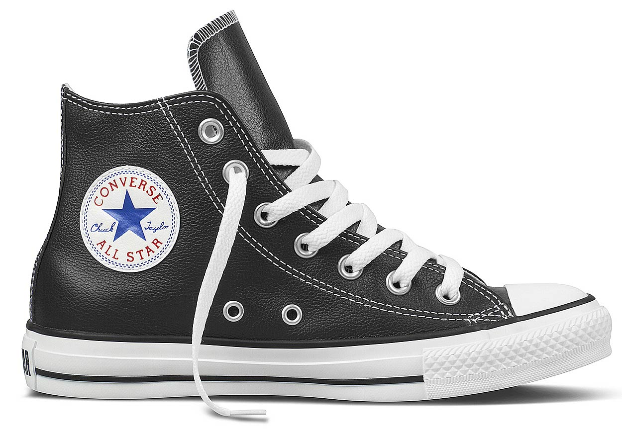 converse chucks hi w basic classic sneaker turnschuhe rot blau weiss neu leder ebay. Black Bedroom Furniture Sets. Home Design Ideas