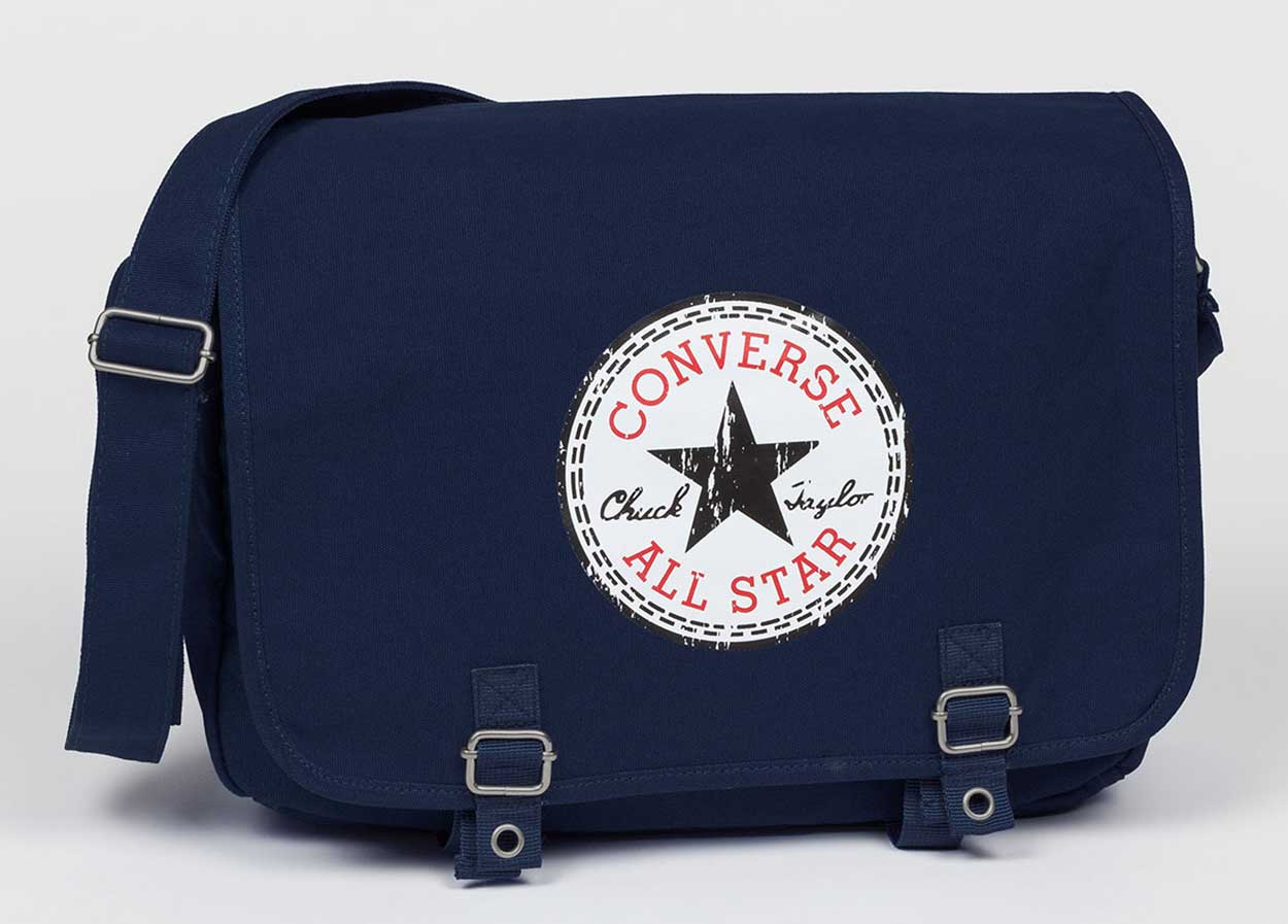converse tasche schultertasche schultasche shopping bag. Black Bedroom Furniture Sets. Home Design Ideas