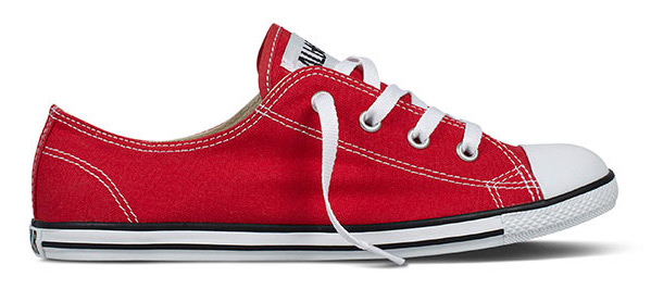 converse sneaker damen rot