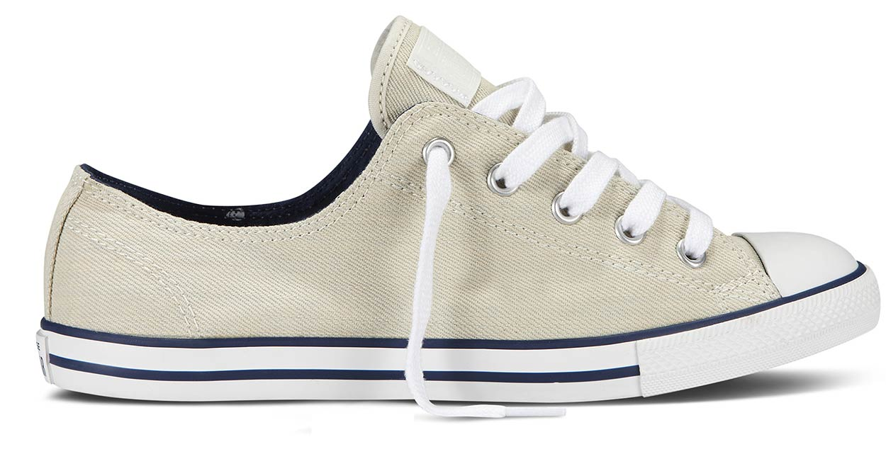 converse damen chucks sneaker ct as dainty ox 542506c beige wei turnschuhe neu ebay. Black Bedroom Furniture Sets. Home Design Ideas