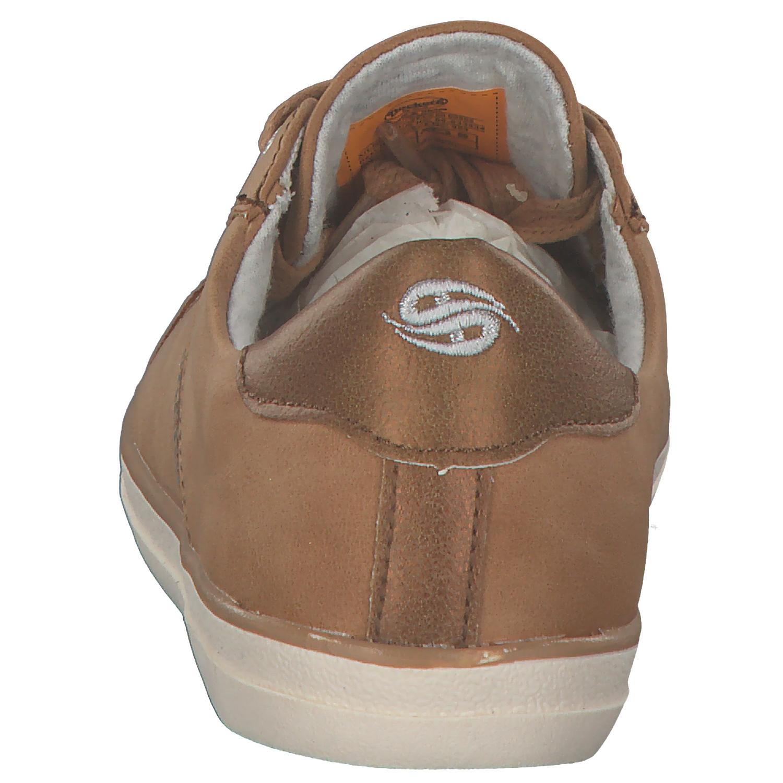 separation shoes 96964 8e79d DOCKERS DAMEN SNEAKERS Low Schnürschuhe Halbschuhe Schnürer 40aa814 Braun  Neu