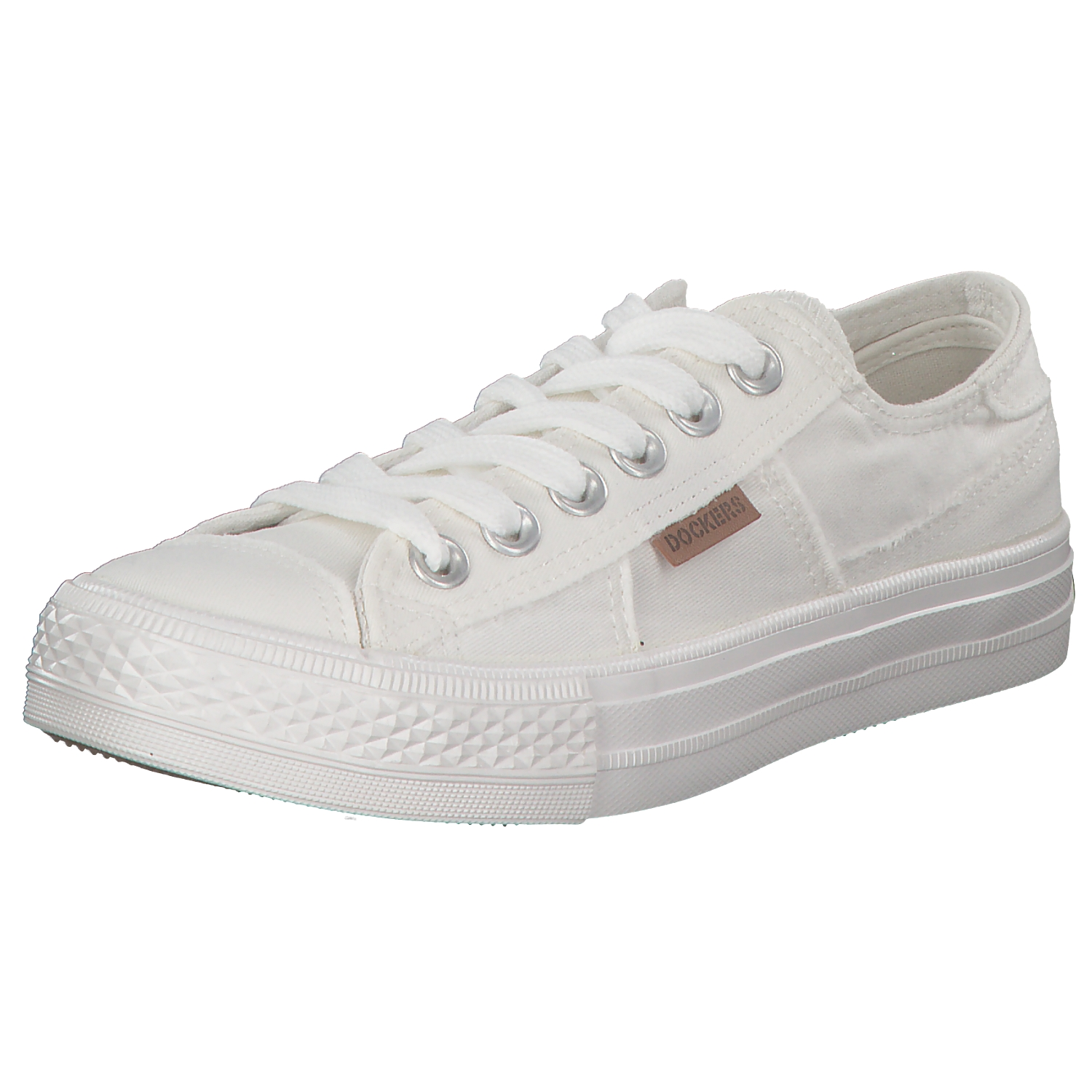 Dockers Women's Sneakers Casual shoes Summer shoes 40th201-790500 White New