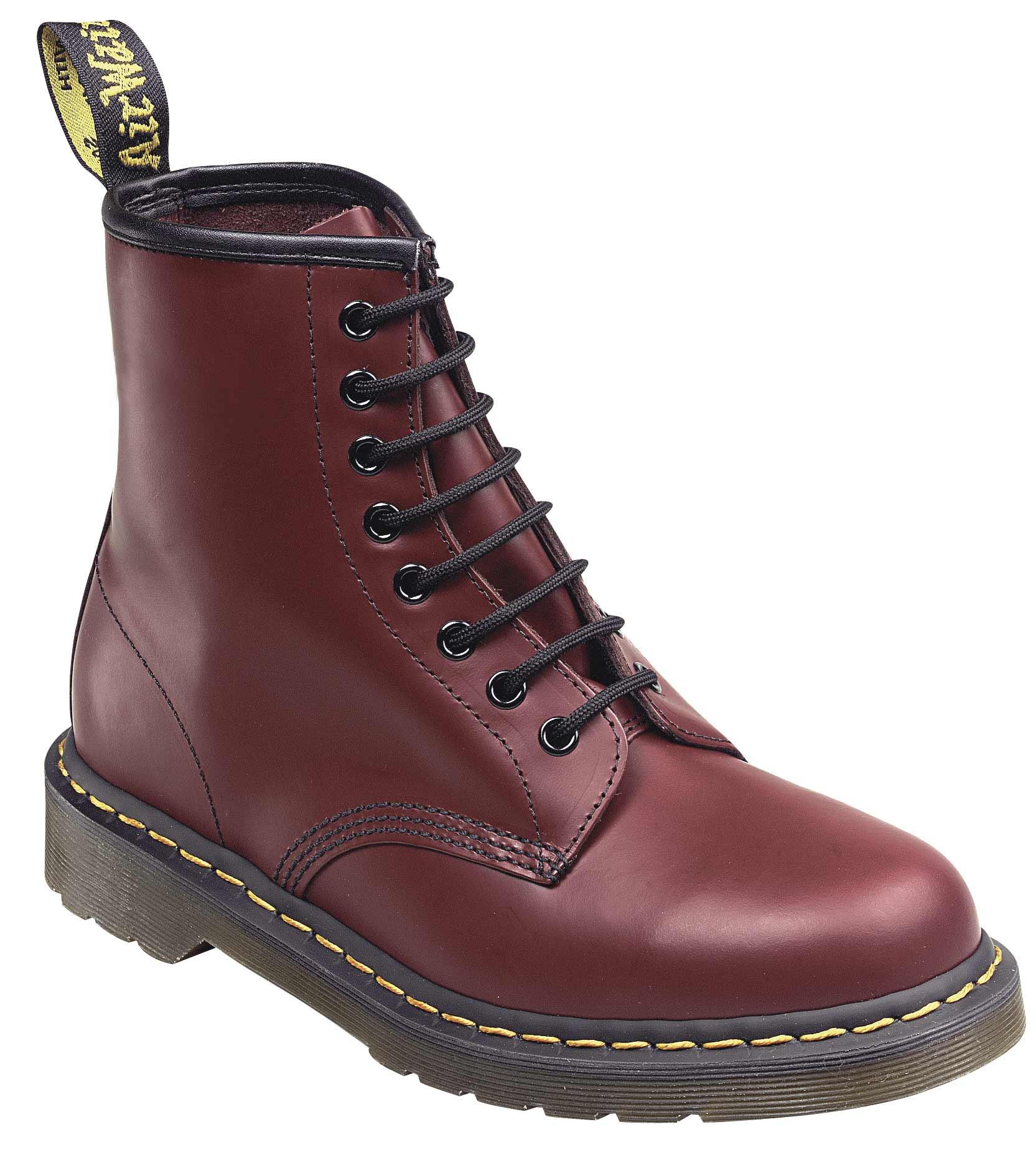 dr martens doc boots stiefel smooth 8 eye loch 1460z lederstiefel neu ebay. Black Bedroom Furniture Sets. Home Design Ideas