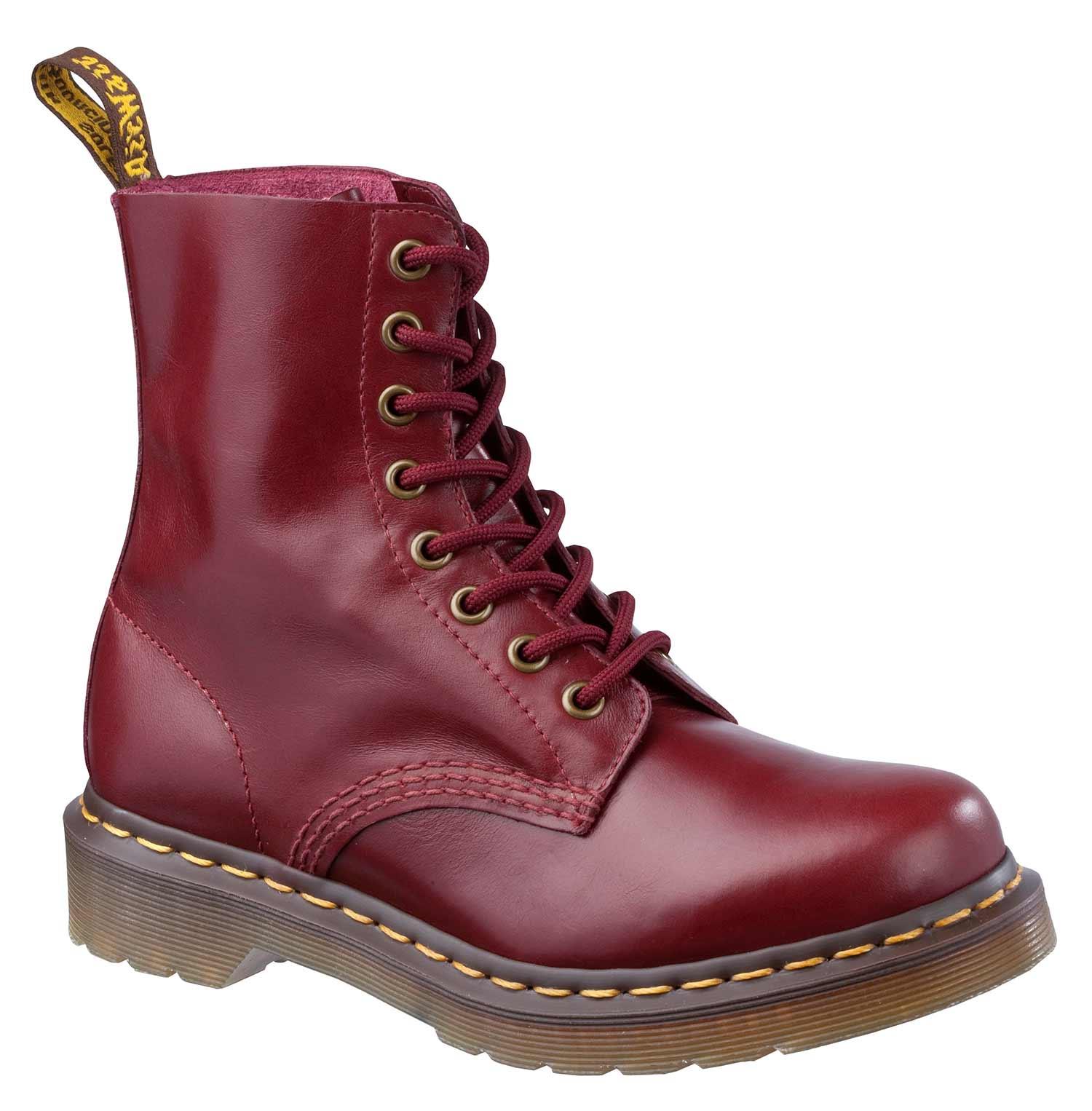 Dr-Martens-Doc-Boots-Stiefel-Smooth-8-Eye-Loch-1460z-Lederstiefel-Neu