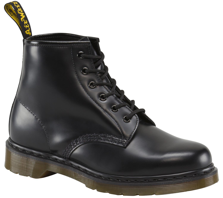 Dr. Martens 101 Smooth Springerstiefel Boots Stiefel Schuhe 10064001 Schwarz Neu
