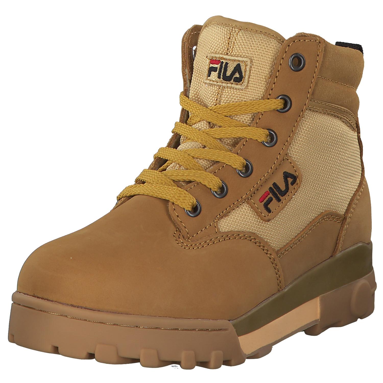 Details zu Fila Heritage Grunge Mid Herren Stiefel Boots Winter 1010160.edu Braun Chipmunk