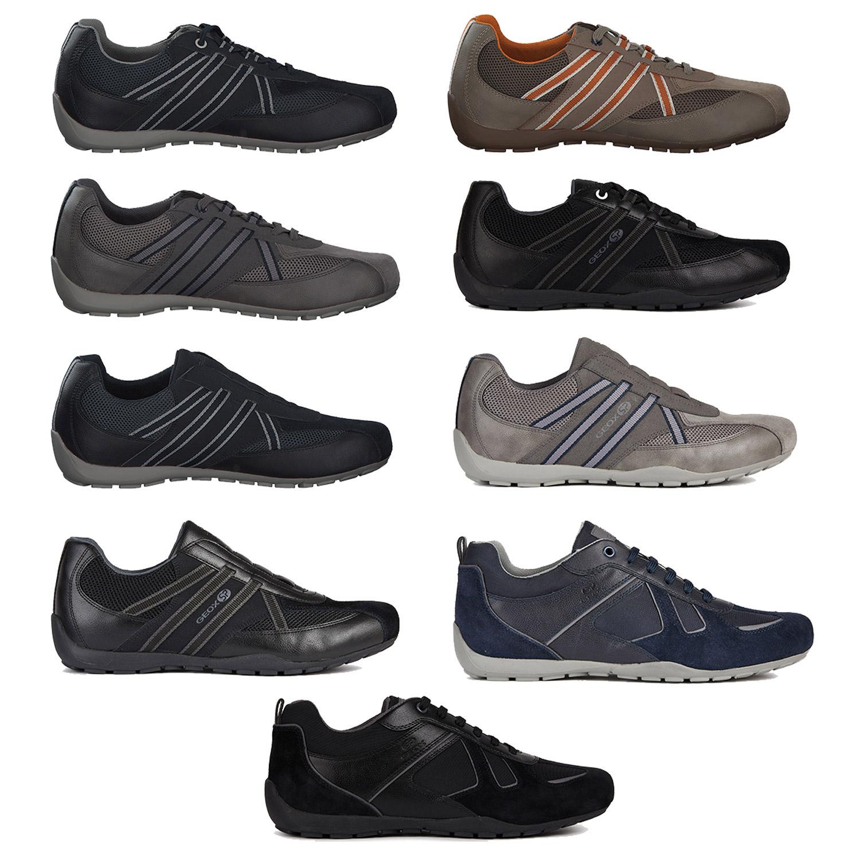 Dettagli su Geox Ravex Sneakers Uomo Scarpe Casual Scarpe Comode Div. Mod. Colori Nuovo
