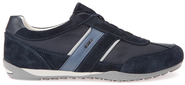 Geox Wells Sneakers Uomo Scarpe casual u82t5a 02211/C4002 BLU NAVY NUOVO