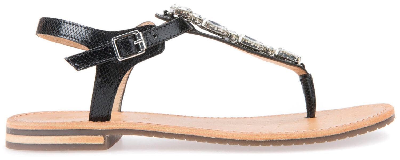GEOX Sozy Sandali donna sandali d822ca 000ga/C9999 Nero NUOVO