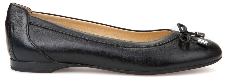 Geox lamulay Ballerine da donna scarpe casual d825dd 00085/C9999 Nero NUOVO