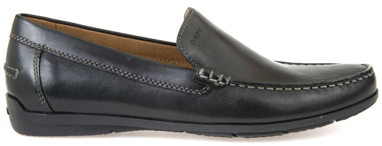 Geox SIRON uomo pantofola casual scarpe estive u32q3a 00043/C9999 Nero NUOVO