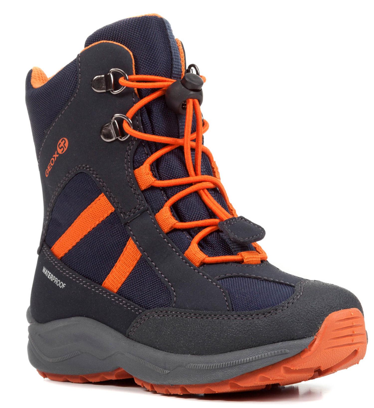 GEOX Alaska Kinder Winterstiefel Blau Schuhe, Gr | real