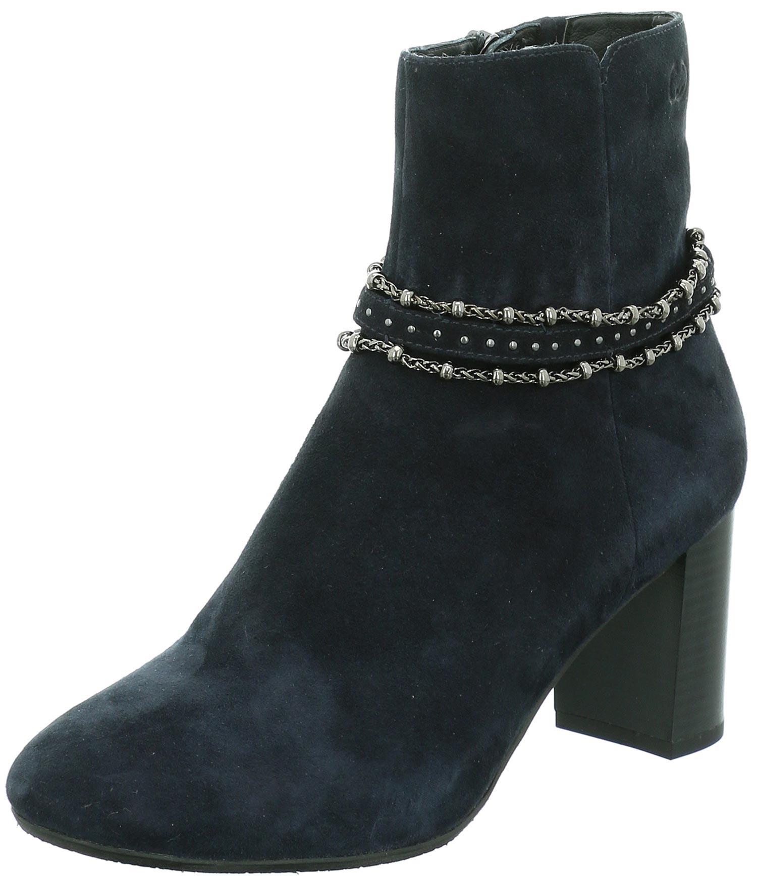 Gerry Weber Amelie Damen Stiefeletten Stiefel Boots G10105 Mi32 505 Blau