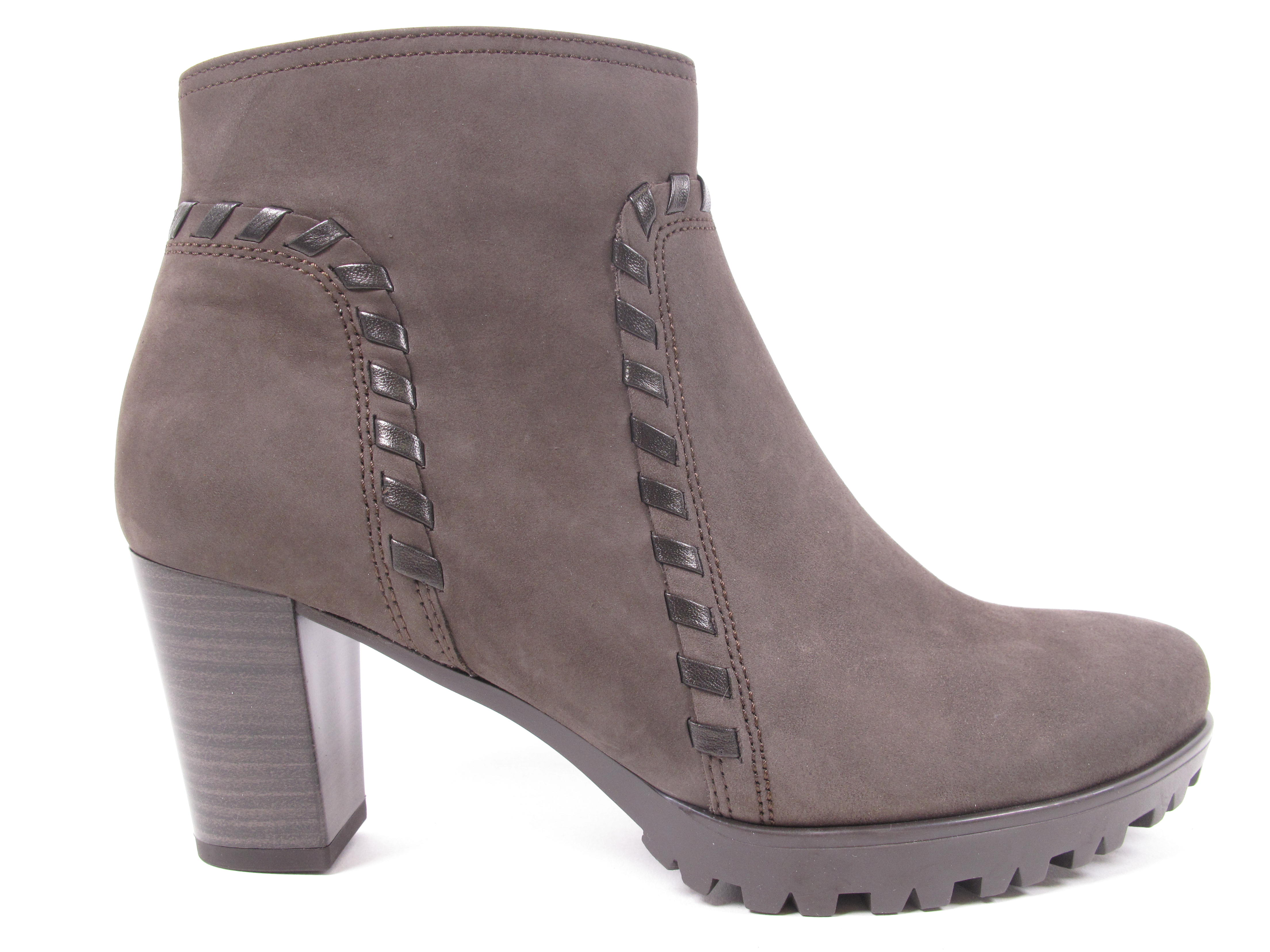 Zapatos especiales con descuento GABOR Ancona Botas Mujer Botas Botines 72.864.29 gris NUEVO