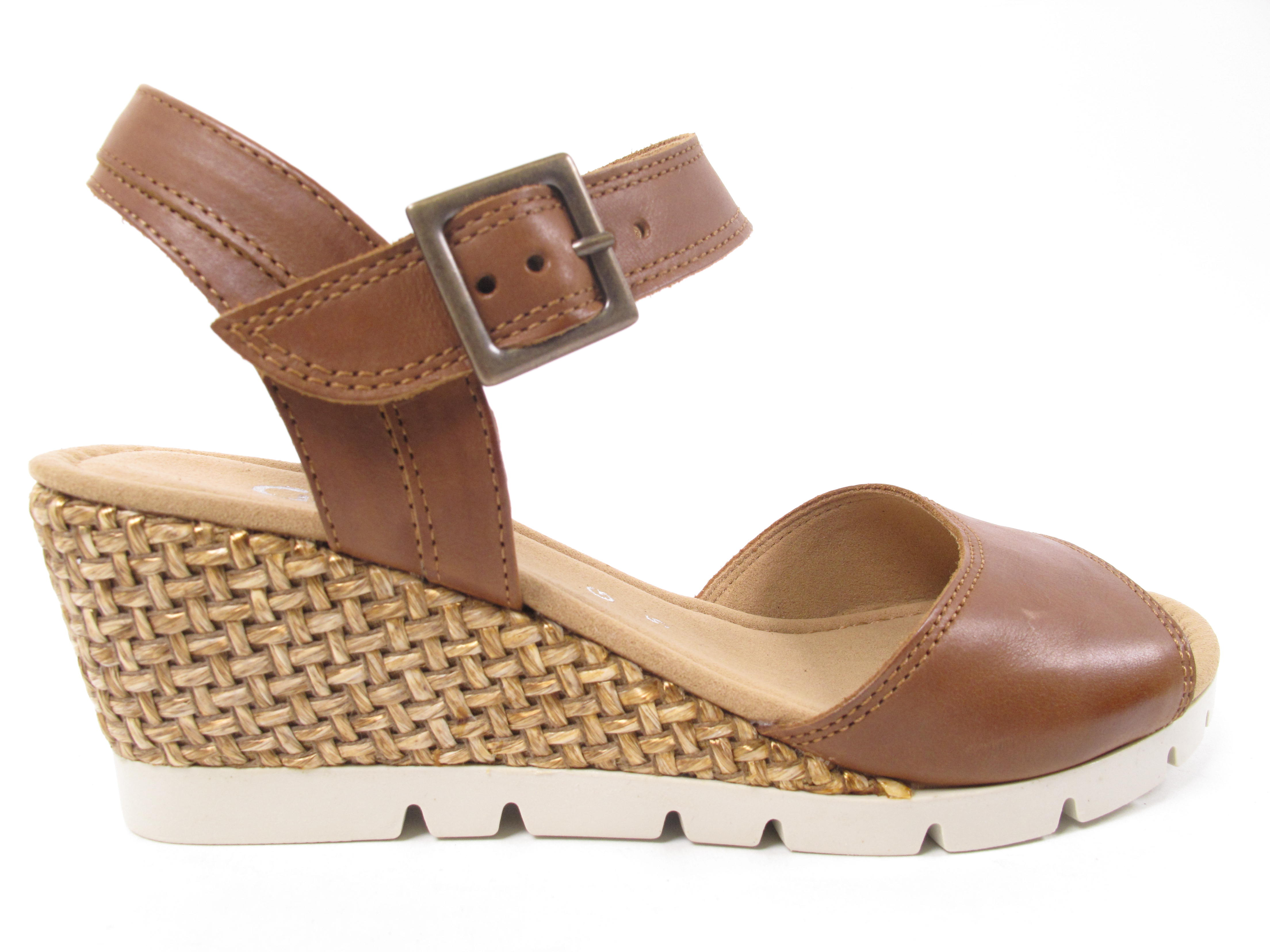 Gabor Tunis Women's Sandals Mules Summer shoes 22.842.53 Brown New