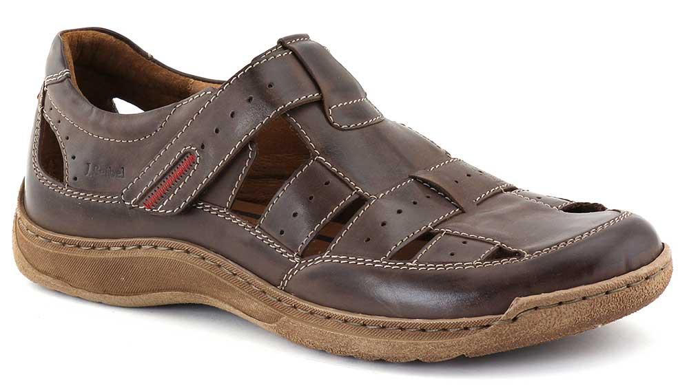 josef seibel sandalen slipper 07 25807 995 330 braun herren schuhe neu ebay. Black Bedroom Furniture Sets. Home Design Ideas