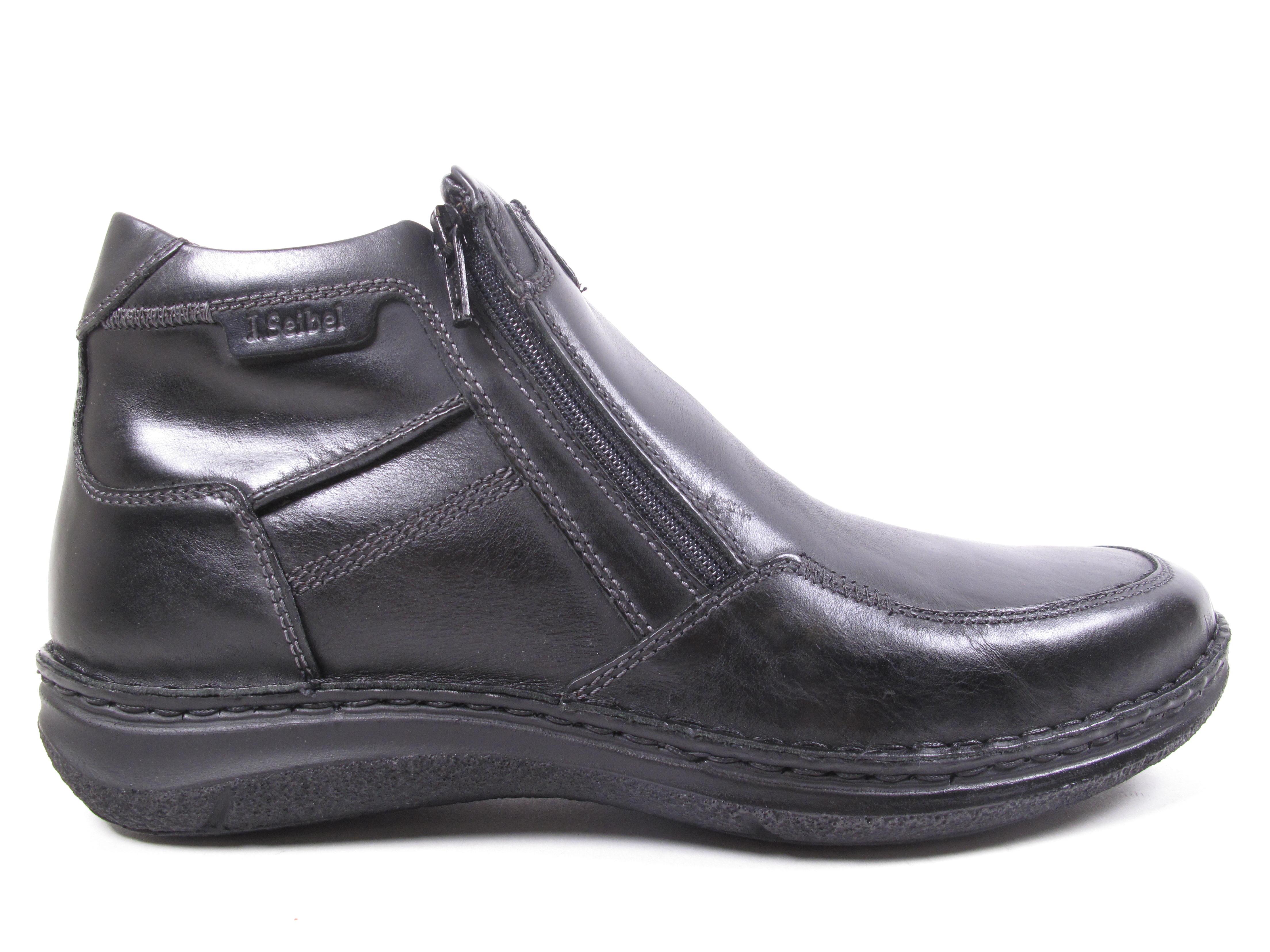 Los zapatos más populares para hombres y mujeres Josef Seibel ANVERS Botas de hombre botines 43382pl950/600 Negras Nueva