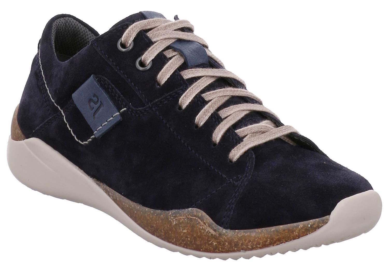 Josef Seibel Ricky Uomo Scarpa Bassa Pantofola Casual 69401te949/530 Blu Nuovo