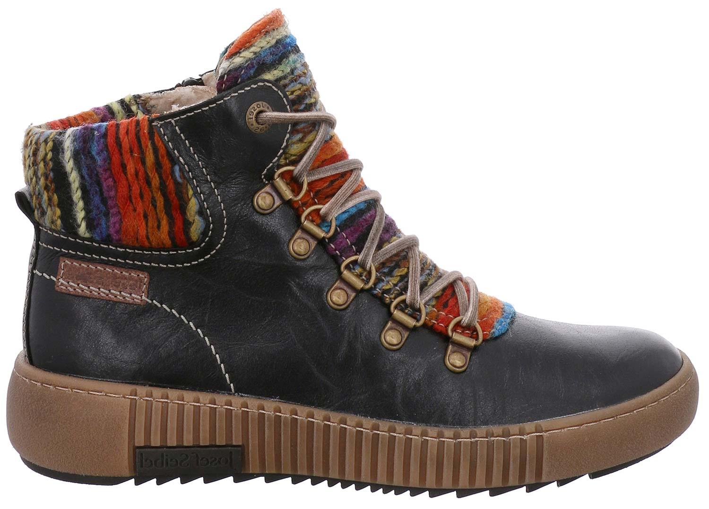 Josef Seibel  maren señora invierno zapatos  Seibel botas 84606pl88/102 negro nuevo 37b9db