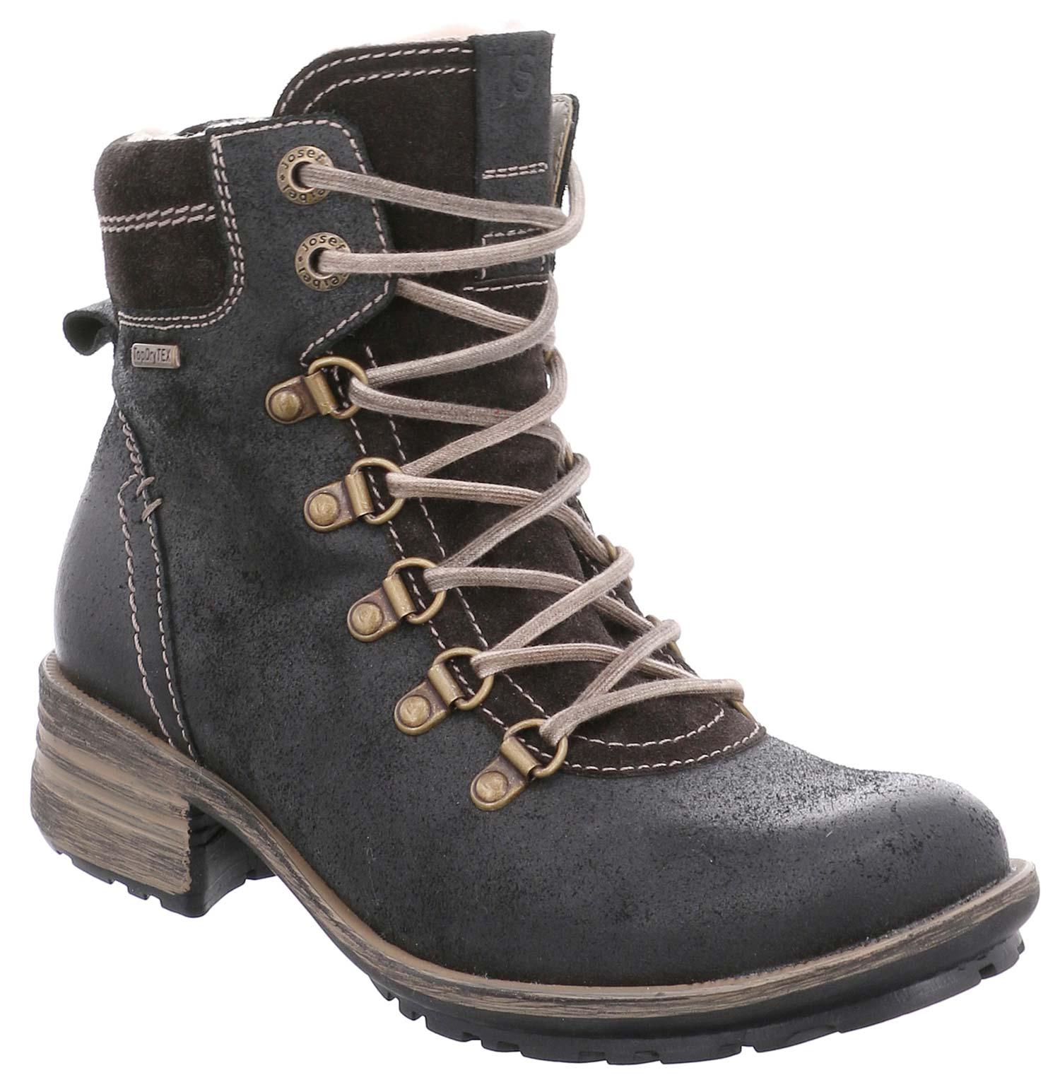 a1cfd30ca9548 Josef Seibel sandra señora invierno zapatos botas 93574pl977 100 negro nuevo