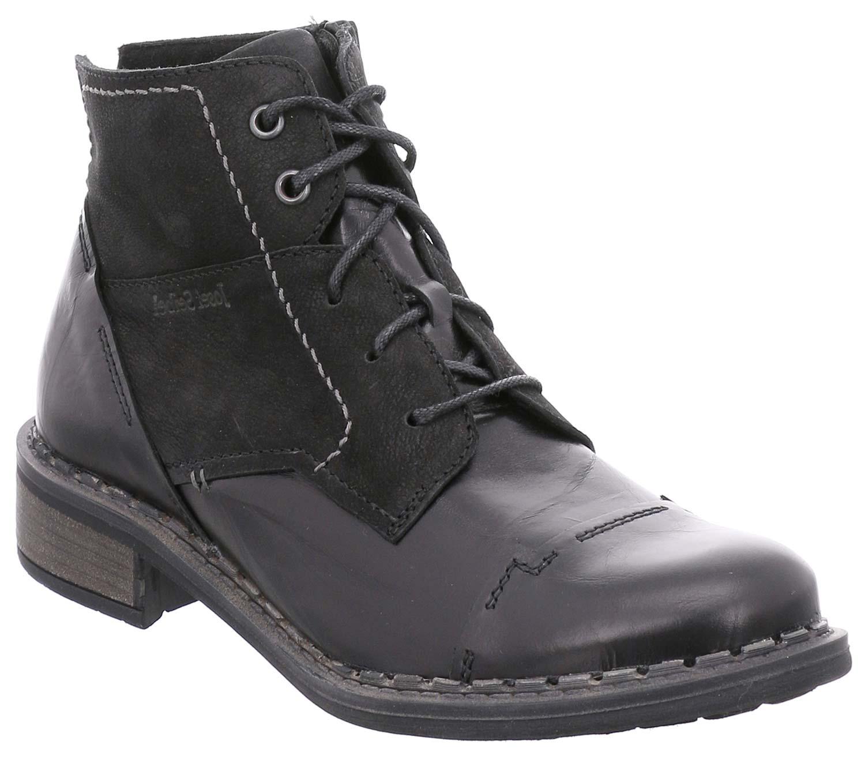 Josef Seibel Selena women shoes Invernali Stivali 97401mi88 100 black Nuovo