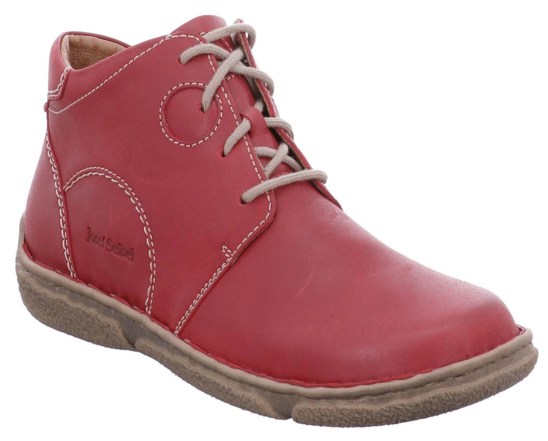Josef Seibel Neele botas de Invierno Mujer botas 85146950 450 Rojo Nuevo