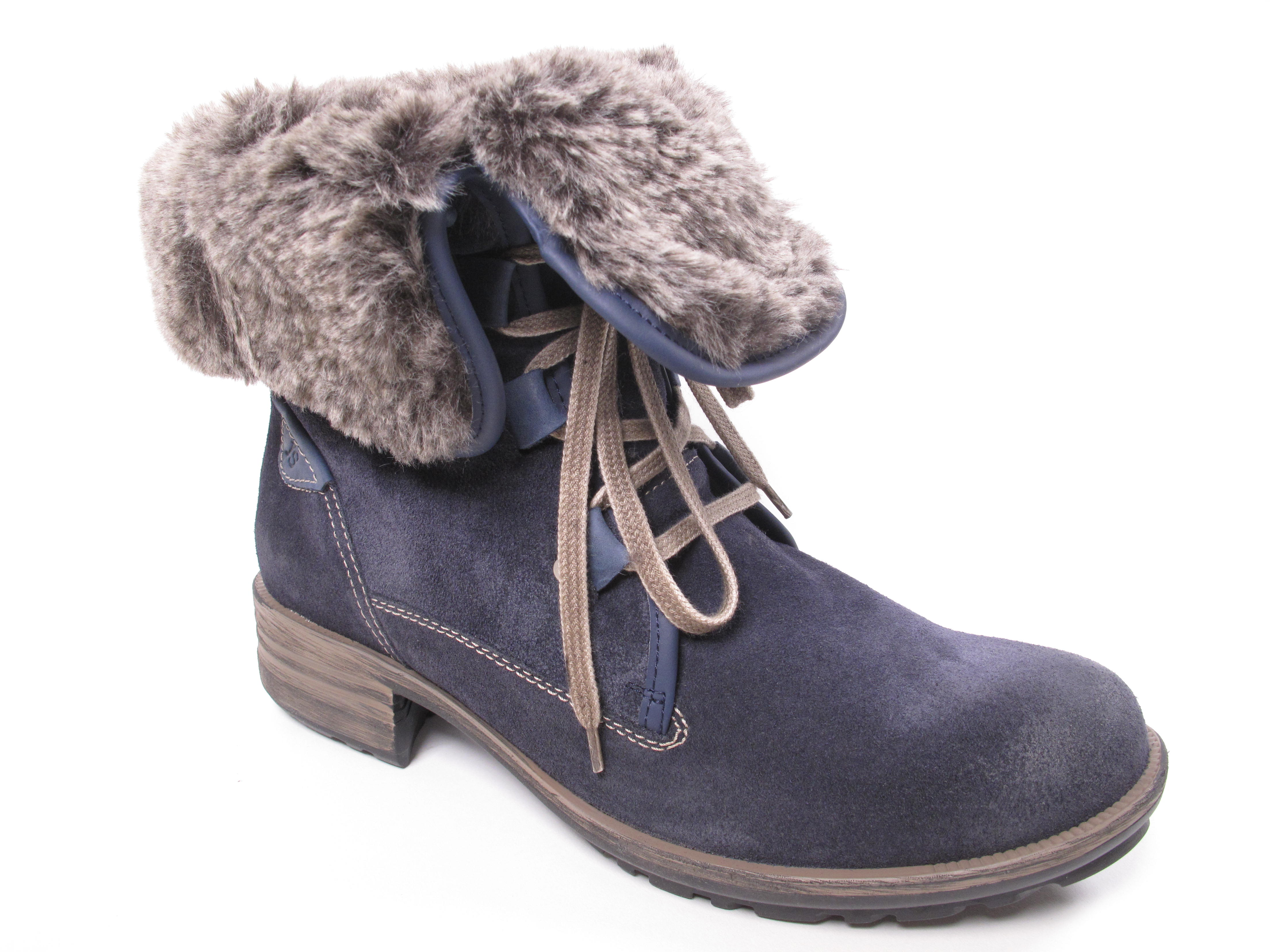 Josef invierno Seibel sandra señora botas botines botas de invierno Josef 93688pl949/596 azul b4d653