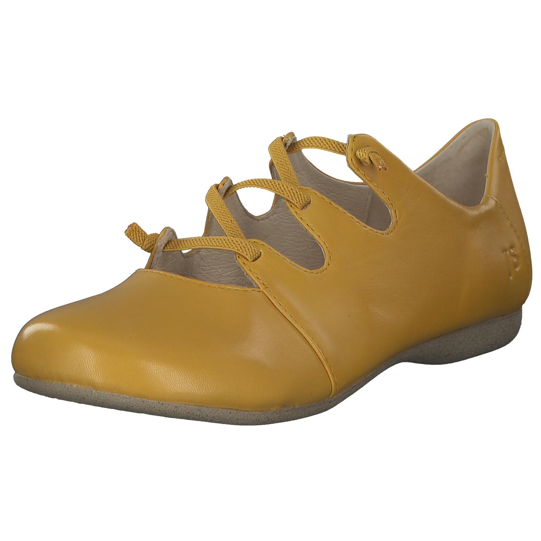 735077ee2032c Details zu Josef Seibel Fiona 04 Damen Ballerinas Schlupfschuhe Sommer  87204971/800 Gelb