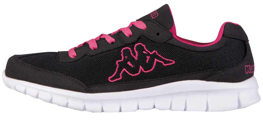Kappa Sneakers Laufschuhe Turnschuhe 242130 1127 Schwarz Pink Neu