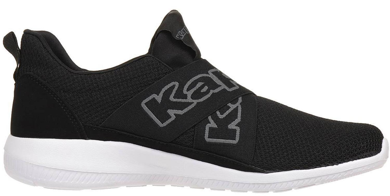Kappa Faster Ii Sneakers Turnschuhe Freizeitschuhe 242302 1116 Schwarz Wei? Neu