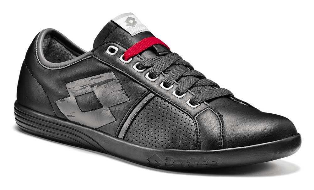 lotto tennis shoes trainers r0712 italian open black new