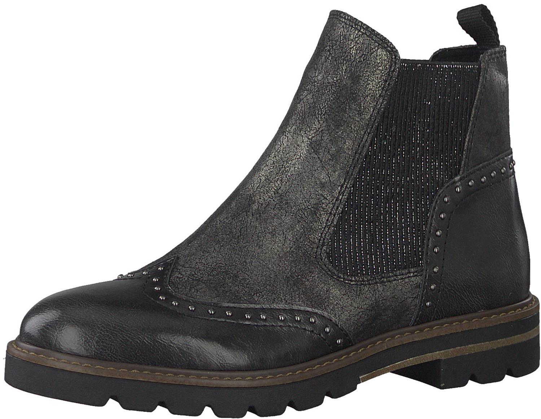 billig Marco Tozzi Ankle Boots grey Da. Stiefel liefert
