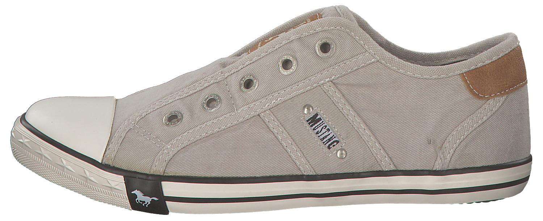 2cb7833f3e0 MUSTANG DAMES FEMMES BASKETS Low-Top Chaussures de sport bas 1099401-22  GRIS 2 2 sur 8 ...