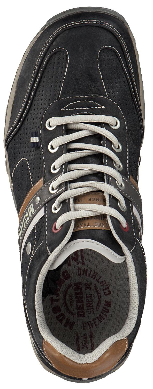 Mustang Herren Herren Herren Schnürschuhe Halbschuhe Sportliche Schuhe 4027310-200 Grau Neu  | Zuverlässige Qualität  6f1e26