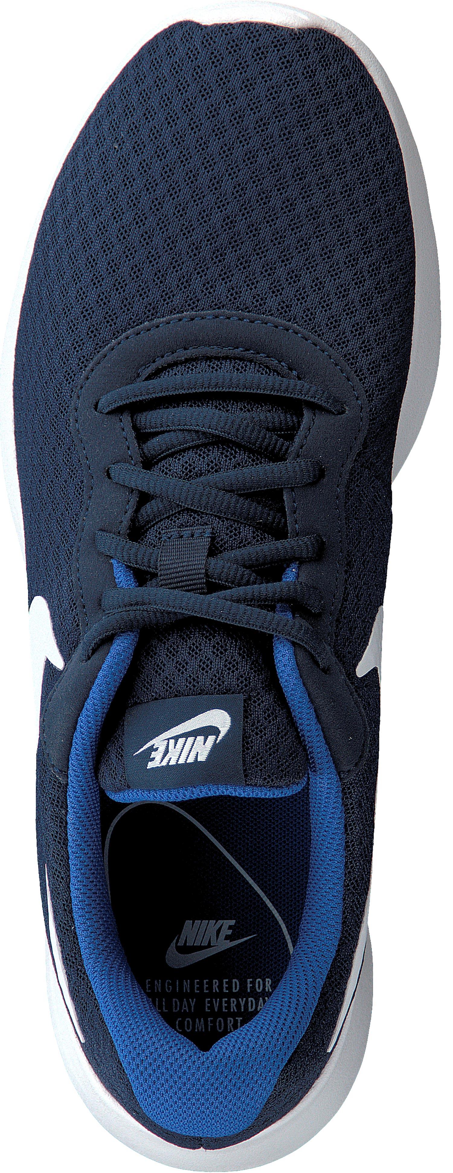 NIKE TANJUN Sneakers Uomo Scarpe da corsa Ginnastica 812654 414 blu navy NUOVO Scarpe classiche da uomo