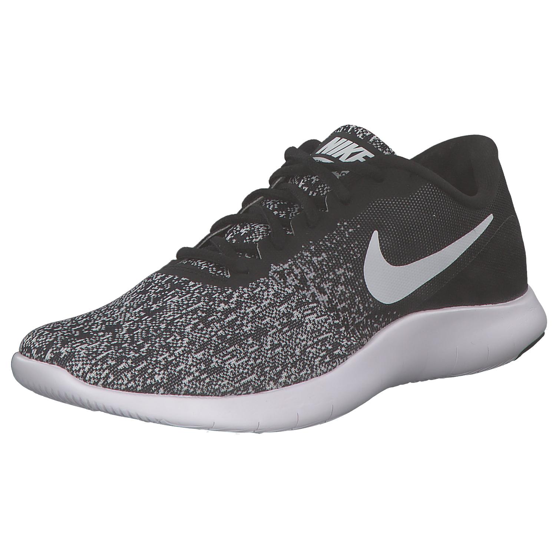 Nike Flex Rn Feel Herren Sneakers Turnschuhe Laufschuhe 908983 001 Schwarz Neu