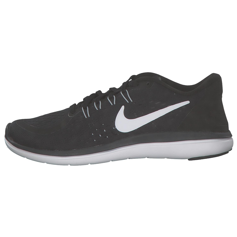 Nike flessibile 2017 RUN DONNE Scarpe da corsa Sneaker nere bianche 898476001