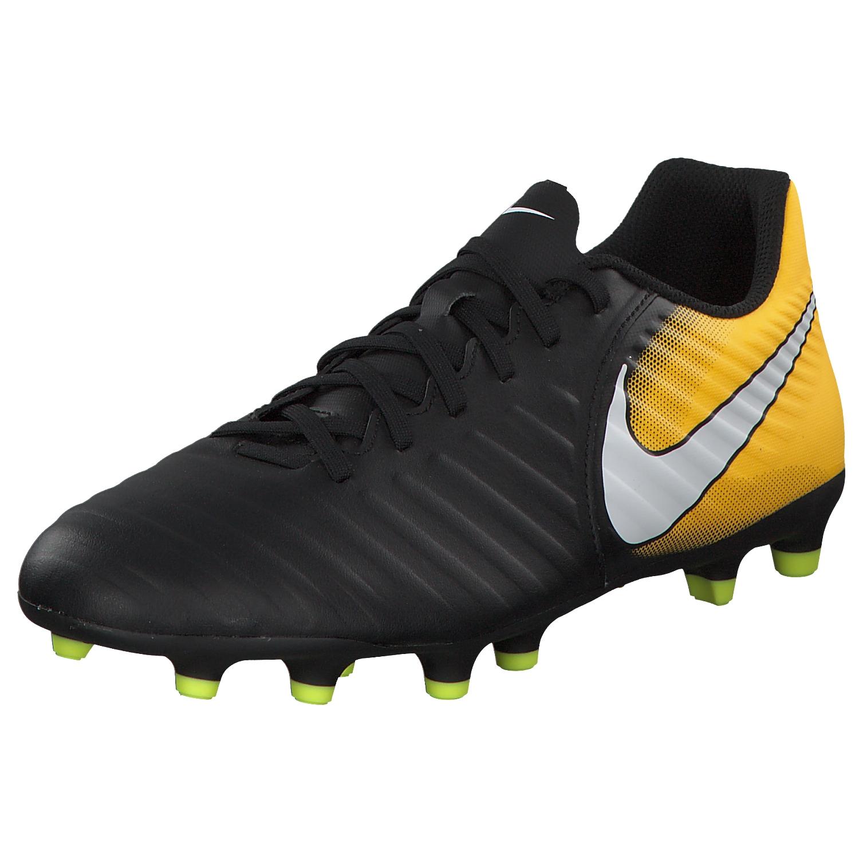 cheap for discount 6ec7d 00980 Zapatos de fútbol Nike Tiempo Rio hombres fútbol zapatillas 897759-008  negro amarillo