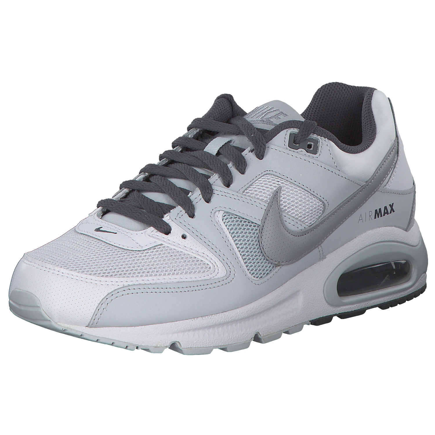 Details about Nike Air Max Command Men Sneakers Sneakers Running Shoes 629993 107 White Grey