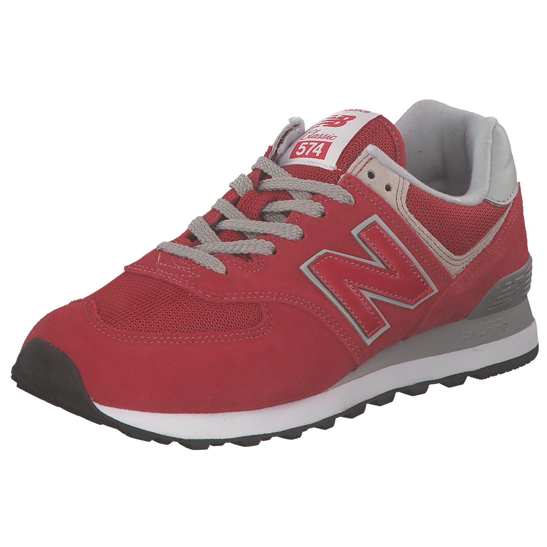 NEW BALANCE Sneakers Uomo Scarpe da ginnastica Scarpe da corsa ml574erd Rosso Grigio Nuovo